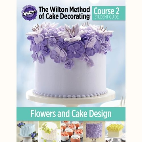 Admirable Wilton Method Flowers Cake Design Ellens Creative Cakes Funny Birthday Cards Online Barepcheapnameinfo
