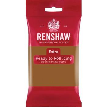 Renshaw Rolfondant Extra 250g -Teddy Bear Brown-