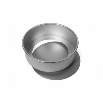 "Silverwood Round Deep Sandwich tin with Loose Base 7""x 2 1/4"""