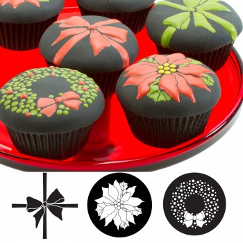 AC Cupcake and Cookie Texture Tops - Christmas