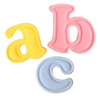 Cake Star Push Easy Cutters - Lowercase Alphabet Set 26 Pc