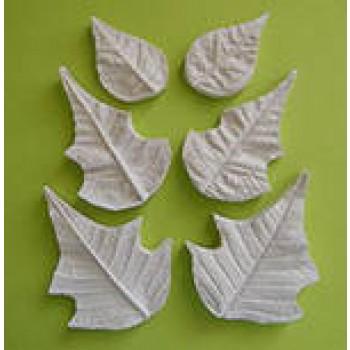Aldaval Poinsettia Leaf and Petal Veiner set 2