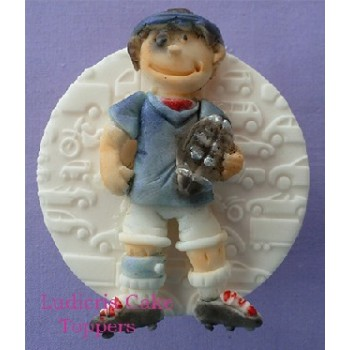 Alphabet Moulds Rugby Player