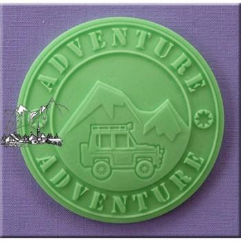 Alphabet Moulds - Adventure Cupcake Topper