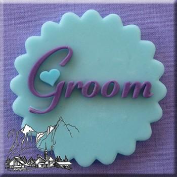 Alphabet Moulds - Groom
