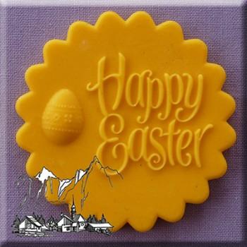 Alphabet Moulds - Happy Easter Topper