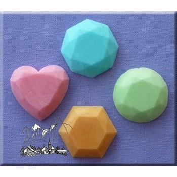 Alphabet Moulds - Gems 1