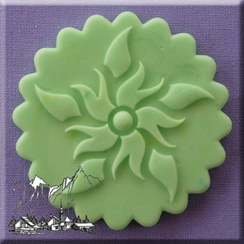 Alphabet Moulds - Decorative Cupcake Topper 8