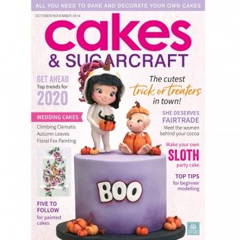 Cakes & Sugarcraft Magazine Oktober/November 2019