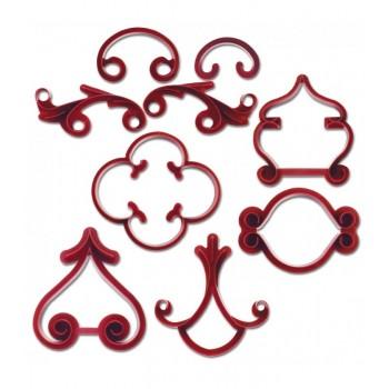 Städter Arabeske Decoration-stamping set