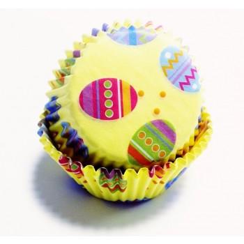 PME Colourful Eggs Standard Baking Cases Pk/60