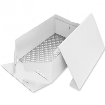PME Cake Card and Cake Box Oblong 38cm
