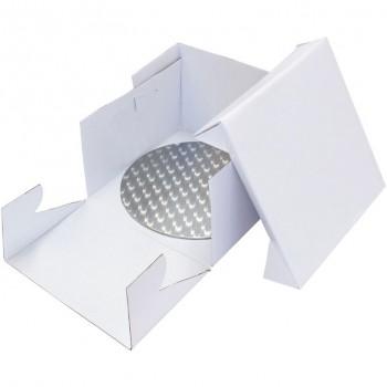 PME 25cm Round Cake Card and Cake Box