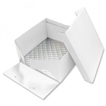 PME 25cm Square Cake Card and Cake Box