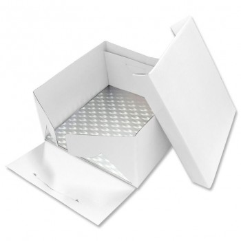PME 33cm Square Cake Card and Cake Box