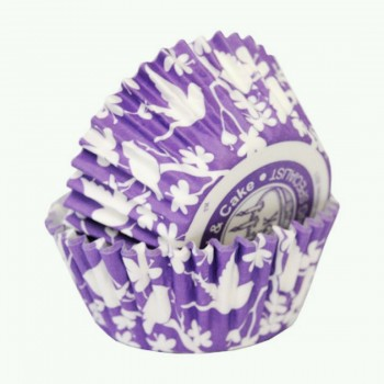 SK Lavender Sugar Bird Cupcake Cases