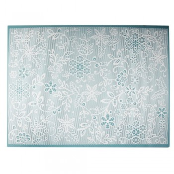 Cake Lace - Floral Fern Large Mat