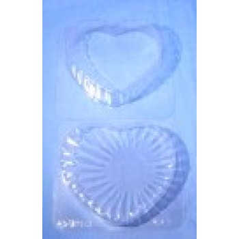Chocolate Mould Heart Box and Lid