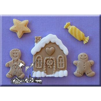 Alphabet Moulds - Christmas Cookies