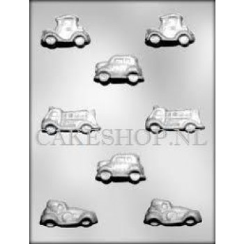 CK Chocolate Mould Vehicles