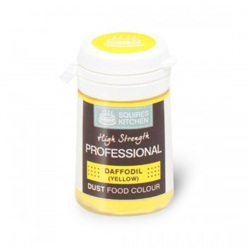 SK Professional Dust Food Colour Daffodil (Yellow)