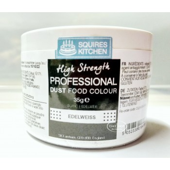 SK Professional Food Colour Dust Edelweiss White 35g