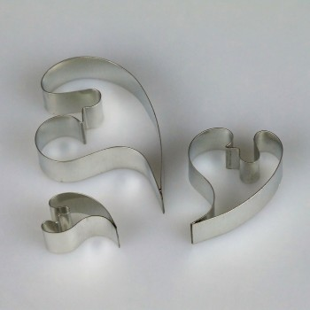 Sugar Artistry Contemporary Leaf Cutter Set