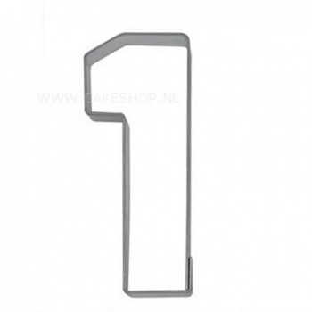 Cookie Cutter Number 1