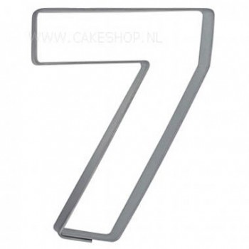 Cookie Cutter Number 7