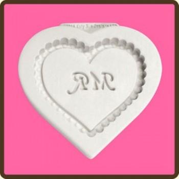 Katy Sue Designs - Heart Plaque - Mr Heart