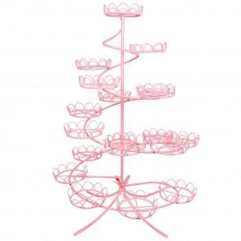 PME Spiral Cupcake Stand pink