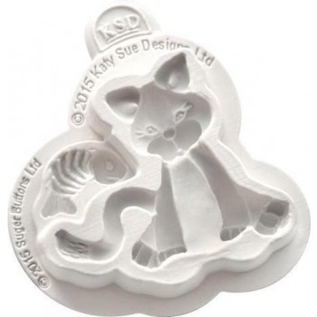 KatySueDesigns - Sugar Buttons Cat