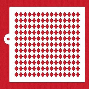 Designer Stencils Harlequin Miniprint Cake Stencil