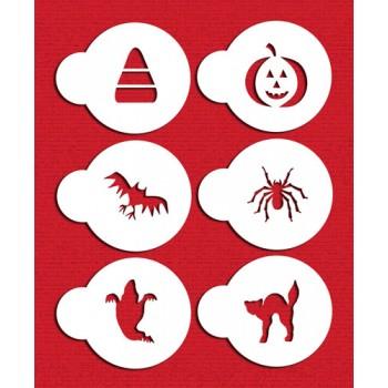Designer Stencils Halloween Cupcake/ Cookie Tops