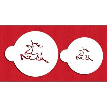 Designer Stencils Prancing Deer