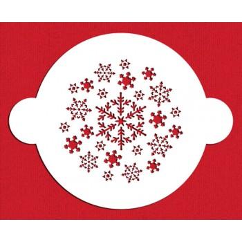 Designer Stencils Snowflake Top