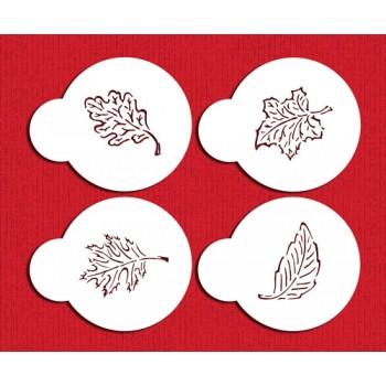 Designer Stencils Leaf Collection Cookie tops