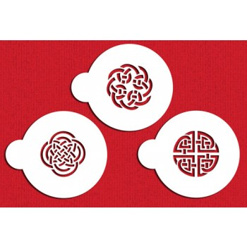 Designer Stencils Celtic Cookies