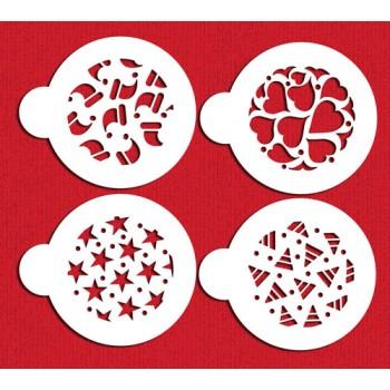 Designer Stencils Holiday Cookies