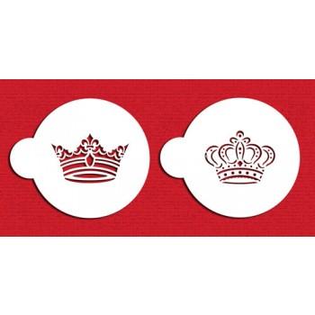 Designer Stencils Royal Crowns