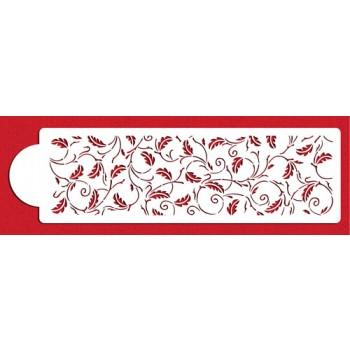 """Designer Stencils 4"""" Oak Leaf Side"""