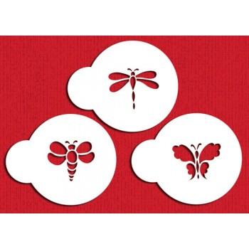 Designer Stencils Mini Bugs Set