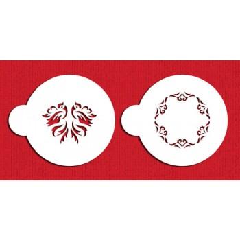 Designer Stencils Wedding Doves Cookie Set