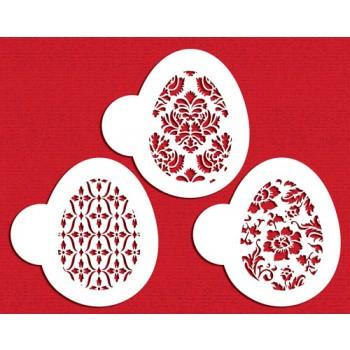 Designer Stencils Chic Easter Eggs