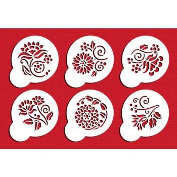 Designer Stencils Crewel Flowers