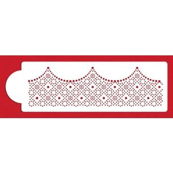 Designer Stencils Ella's Pearl Embroidery