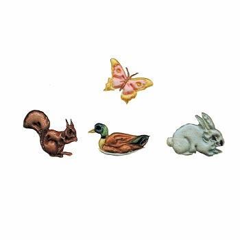 FMM Embossing Stamp Set - Wildlife