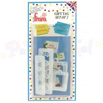 FMM Gift Tag Cutter Set