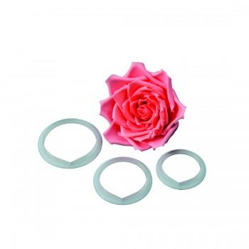 FMM Large Rose Petal Cutter Set/3