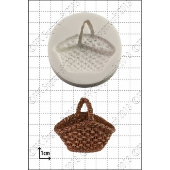 FPC Wicker Basket Silicone Mould